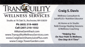 Tranquility Wellness Services